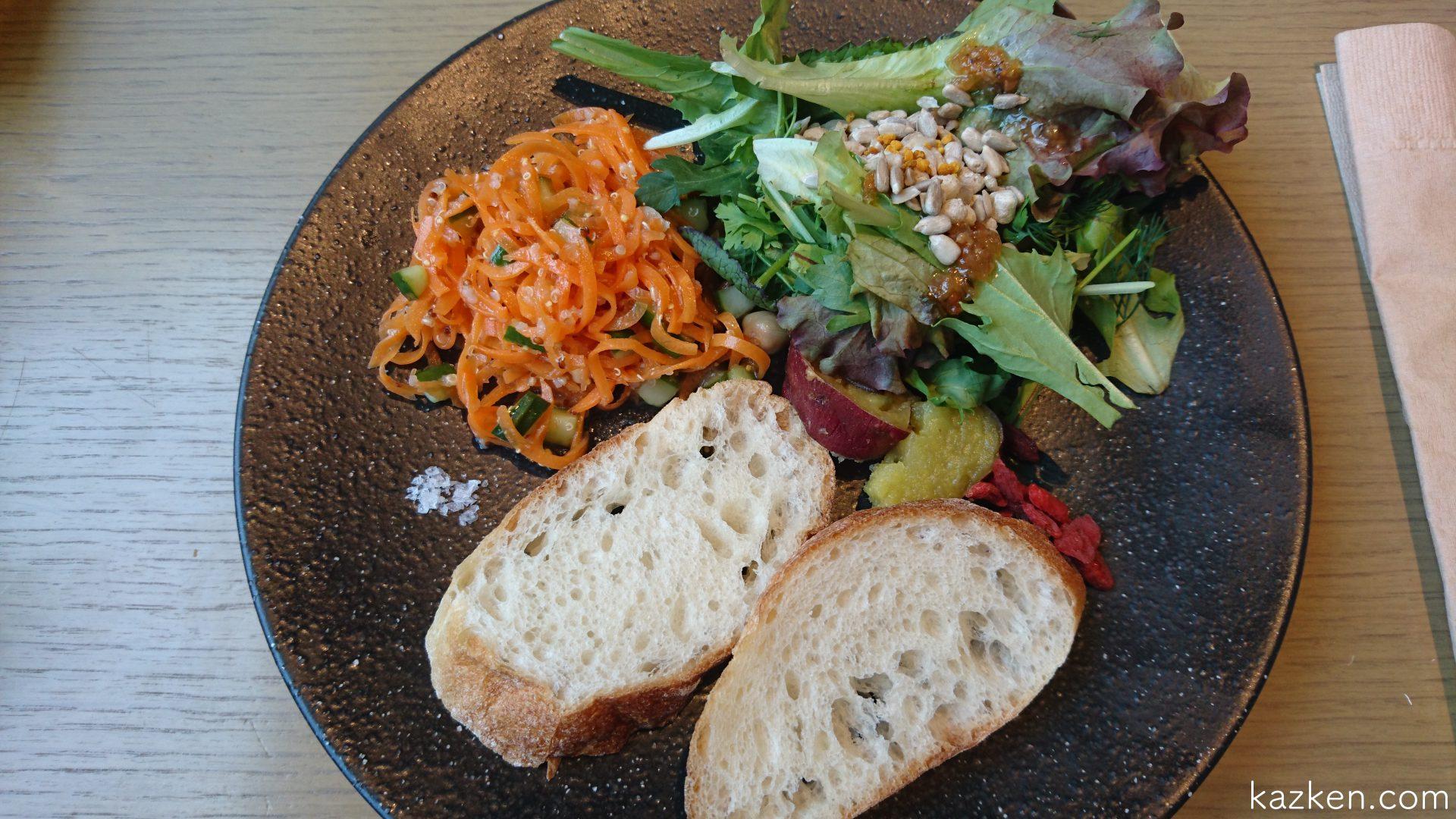 恵比寿のコスメキッチンアダプテーションでオーガニック野菜の朝食を食べました