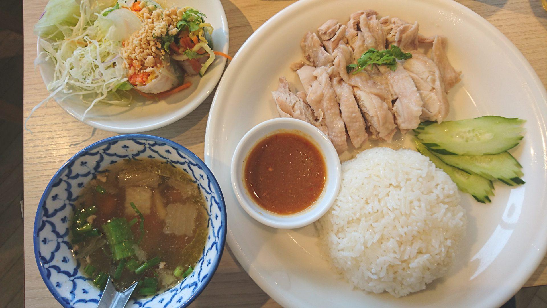 プリンスアンドプリンセス(お台場)でタイ料理のランチを食べました