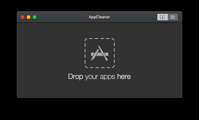 AppCleanerの使い方