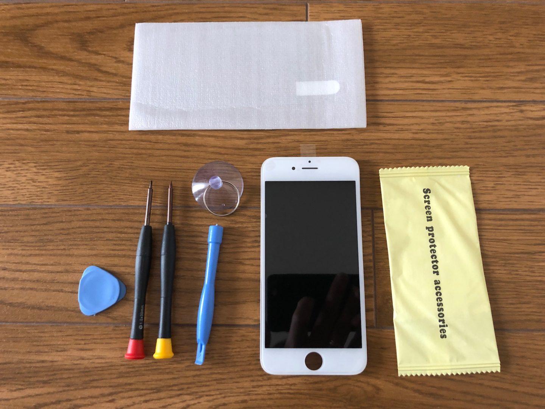 iPhoneの画面修理の方法 - 交換用のディスプレイを購入する -